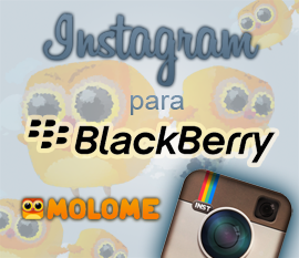 MOLOME, la alternativa a Instagram en Blackberry