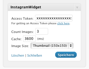InstagramWidget. Inserta tus fotos Instagram en tu blog WordPress
