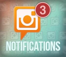 Instagram muestra notificaciones de otro perfil