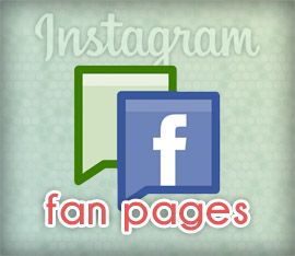 Compartir fotos Instagram en fan pages