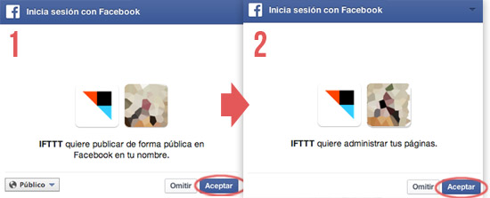 Conectar Instagram a fan page con IFTTT