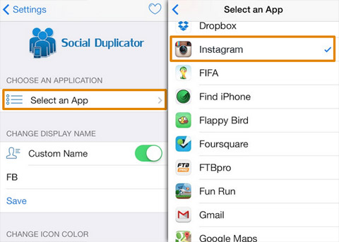Duplicar Instagram en iPhone